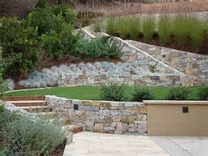 landscaping ideas for hillside backyard slope solutions
