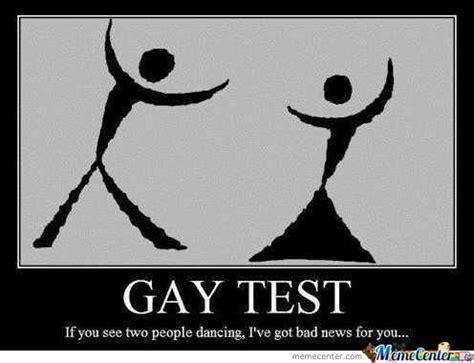 Gay Test Meme - official memes image memes at relatably com