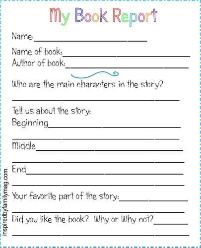 parts of a book report book reports instantly