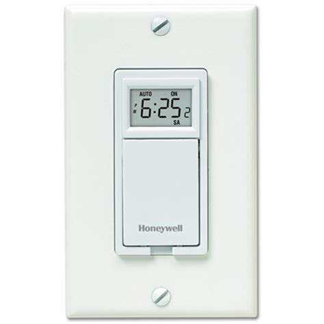 Honeywell 7 Day Programmable Light Switch Timer White