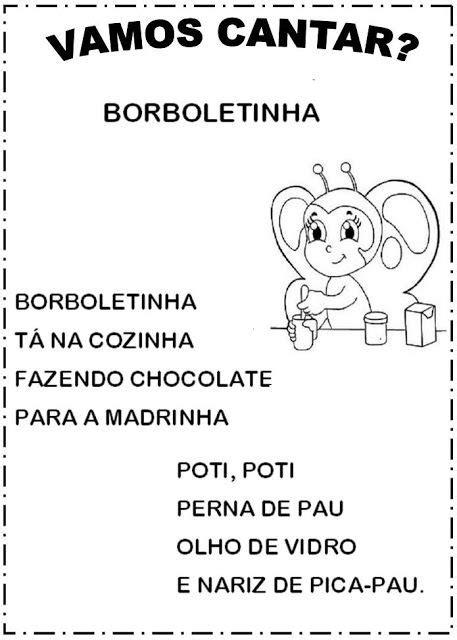 APOSTILA 50 MÚSICAS INFANTIS PARA BAIXAR EM PDF | Letras
