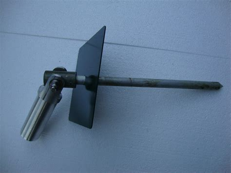 antenna swivel stake used with 48 quot mast pole ebay