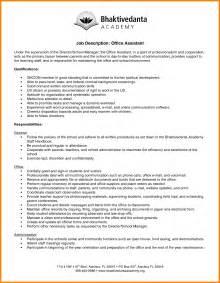 5 job responsibilities of office assistant ledger paper