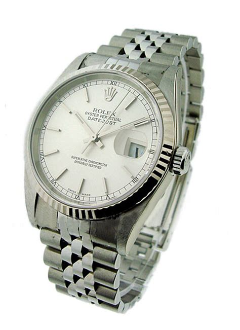 rolex used s datejust with jubilee bracelet 16234