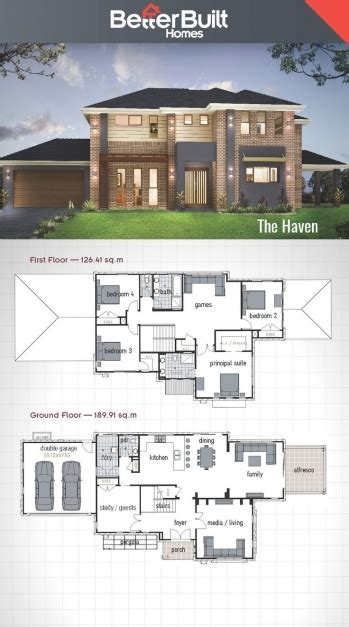 top 10 house plans wonderful best 10 double storey house plans ideas on
