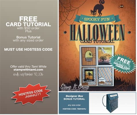 card techniques free free tutorials spooky card tutorial backpack box
