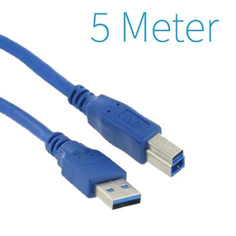 Kabel Printer Usb 3 Meter Websong usb 3 0 a b printer kabel 5 meter yagoda nl