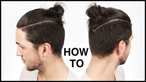 how to get the knot hairstyle for men how to tie the perfect man bun top knot men s hairstyle