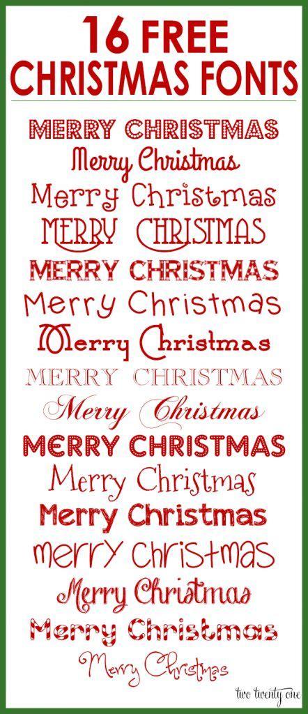 christmas fonts   holiday designs
