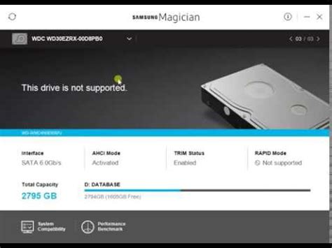 Samsung Magician Samsung Magician Performance Benchmark Test Ssd Hdd Drives