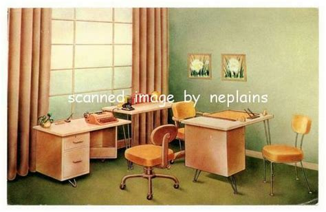 Home Office Furniture Kansas City Missouri Kansas City Abc Office Furniture Advertising For H O N Furniture 1950s