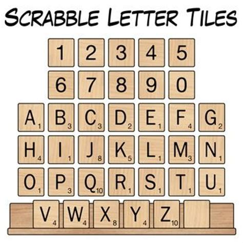 scrabble no free scrabble letter tiles clip woods clip and