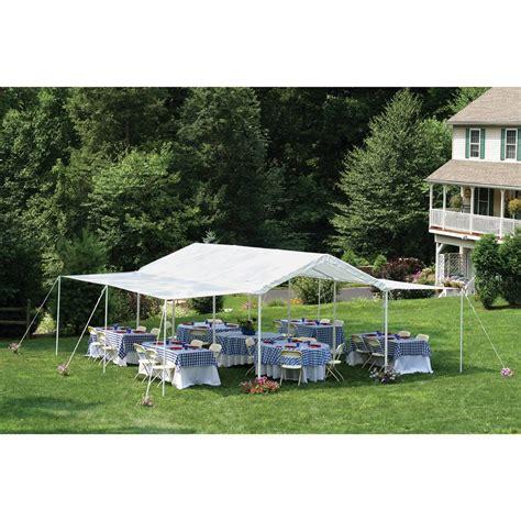 Garage Awning Kit Shelterlogic 10x20 Canopy Extension Kit 45791 Garage