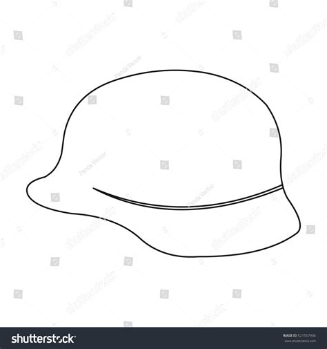 Soldier Helmet Outline soldier helmet icon outline single weapon icon from the big ammunition arms set