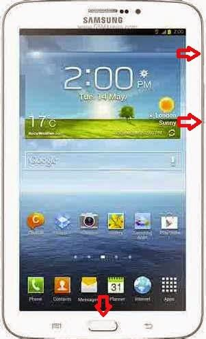 Samsung T211 On Of Volume Tombol Poewer cara root samsung galaxy tab 3 7 0 sm t211 android guide