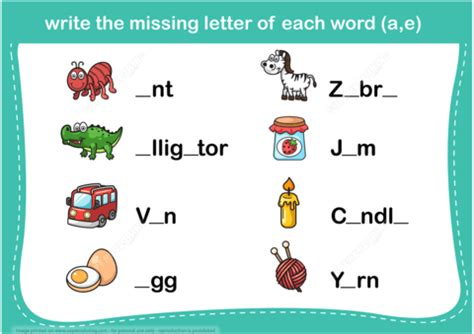 printable missing word games write the missing letter word puzzle copy free printable