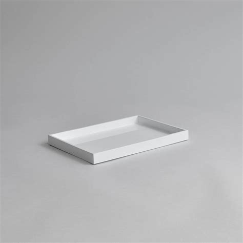White Vanity Tray by Small Lacquer Vanity Tray By Nom Living