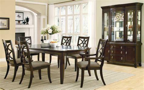 espresso dining room set meredith dining room set espresso finish coaster free