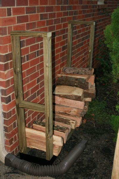 diy firewood rack cover outdoor log rack bracket kit slrk