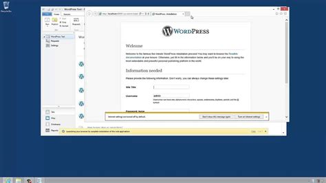 webmatrix tutorial how to install wordpress 3 5 with microsoft webmatrix