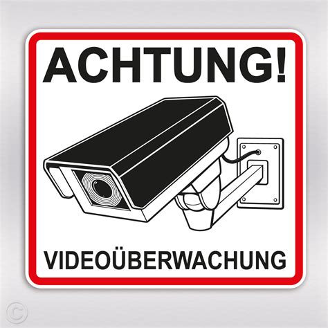 Aufkleber Auto Kamera aufkleber video 252 berwachung achtung kamera sticker kaufen