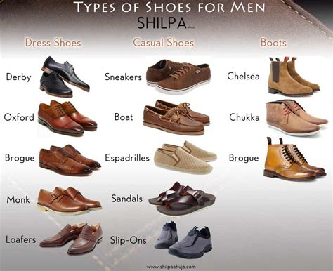 mens boot types s shoe styles different types of shoes for
