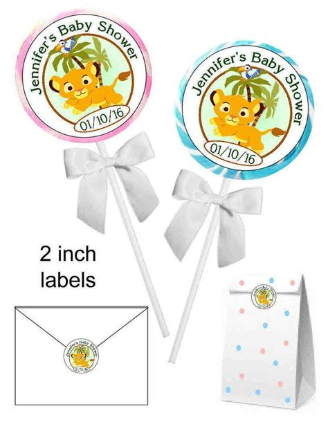 Simba Baby Shower Favors best 25 simba baby shower ideas on king baby