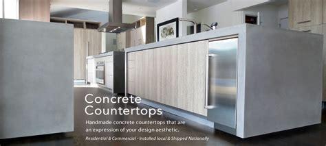 Business Countertops - trueform concrete custom tables sinks counters