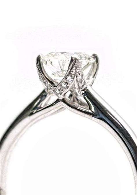solitaire diamonds and rings on