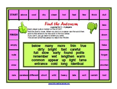printable literacy board games printable reading games printable phonics games