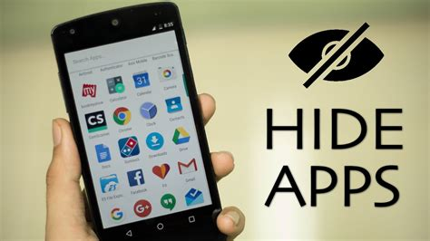 app to hide apps android how to hide apps on an android device theinnews