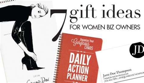 7 great gifts for women business owners