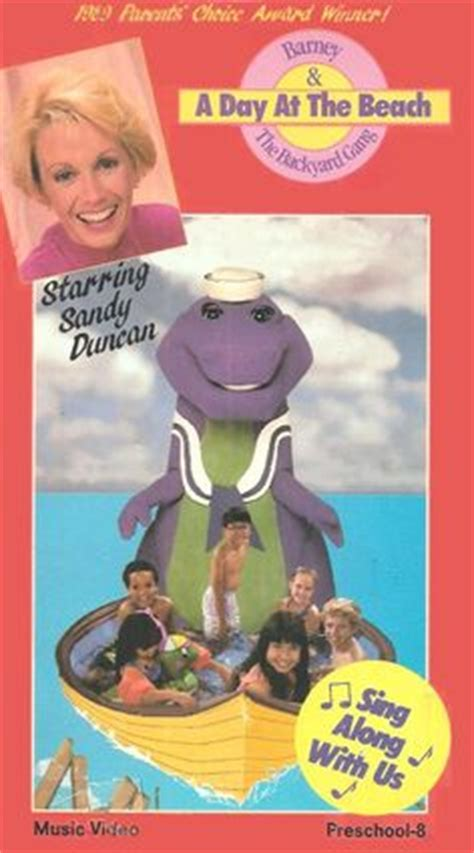 barney and the backyard gang a day at the beach barney the backyard gang the backyard show vhs books