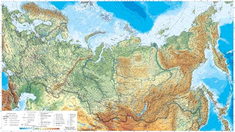 russia and europe physical map maps of russia detailed map of russia with cities and