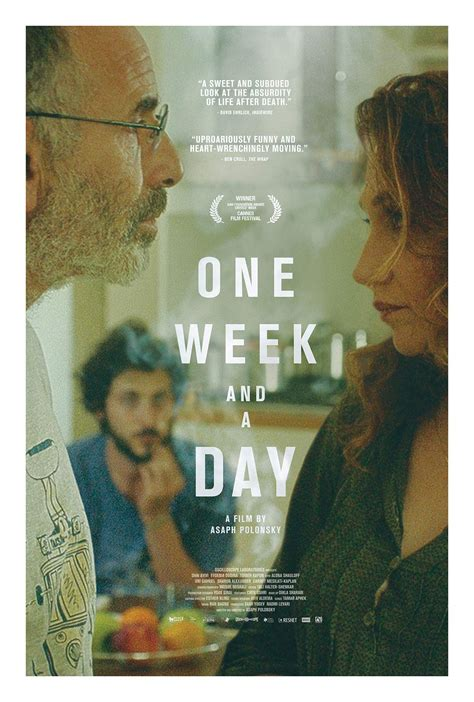 1 week of day one week and a day 2017 poster 1 trailer addict
