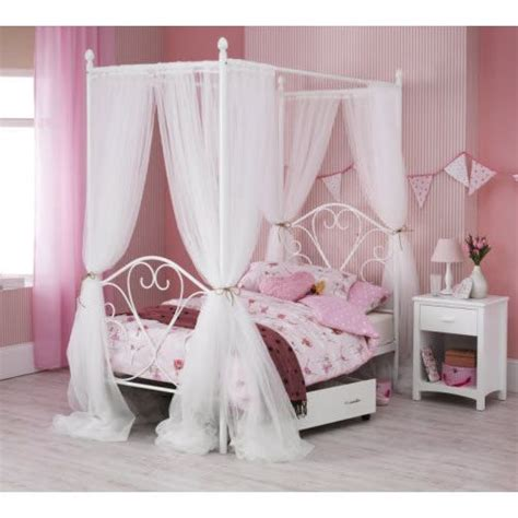 four poster single bed frame 1000 ideas about metal bed frames on metal