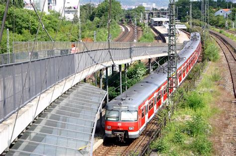 innerer nordbahnhof stuttgart s bahnstation quot filderstadt quot die s bahnstrecke vom
