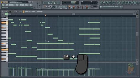 tutorial fl studio piano roll the piano roll image line
