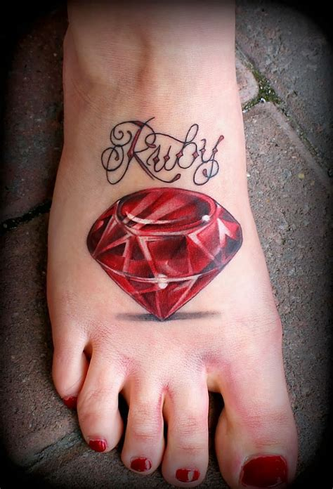 tattoo ideas for the name ruby 17 best images about jewel tattoos on pinterest ribs