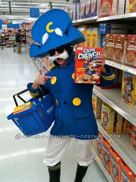 realistic capn crunch homemade halloween costume