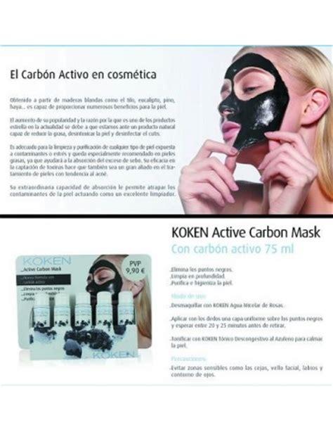 Masker Koken koken mascarilla carb 243 n activo farmamia