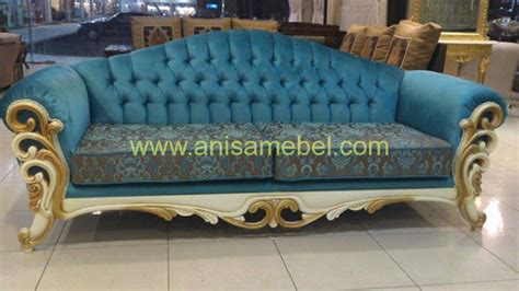 Sofa Warna Biru kursi sofa ukir warna biru anisamebeljatijeparaterbaru