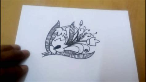 Easy Free easy free drawing flowers