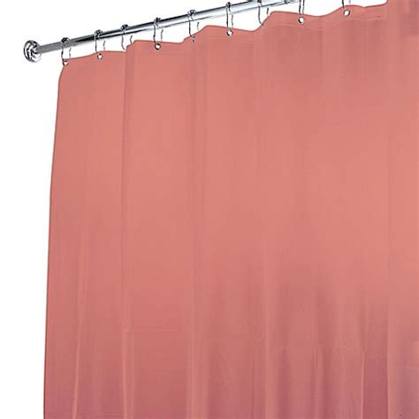 bed bath and beyond shower curtain liner 5 gauge shower curtain liner bed bath beyond
