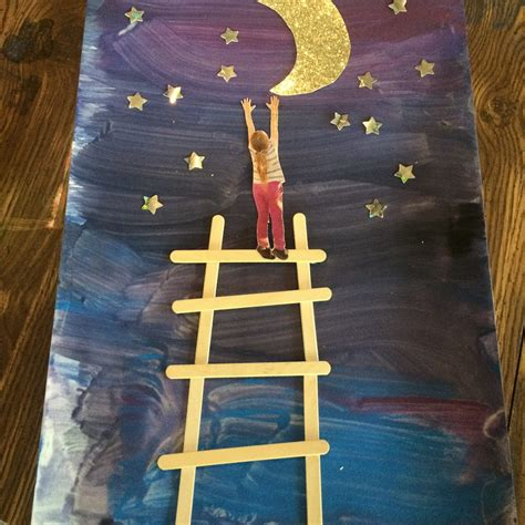 arts and crafts me papa get the moon for me project