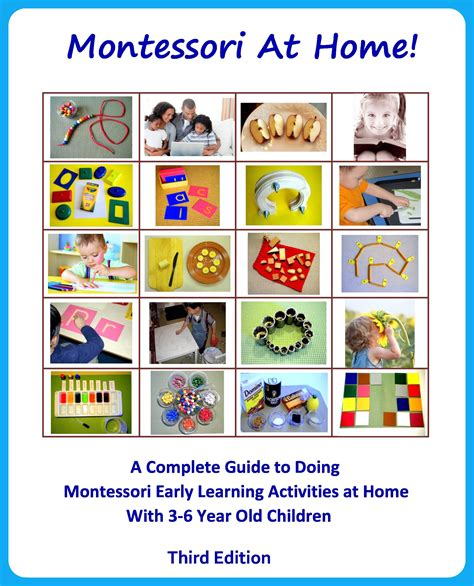 montessori printable books quot montessori at home quot looks like a great book