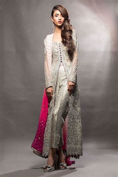 pink colour combination dresses latest bridal dresses colour combination in pakistan 2017