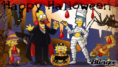 halloween imagenes los simpson happy halloween simpson picture 130895871 blingee com