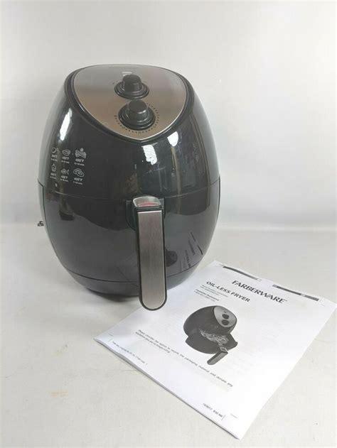 farberware air fryer  qt oil  multi function fryer