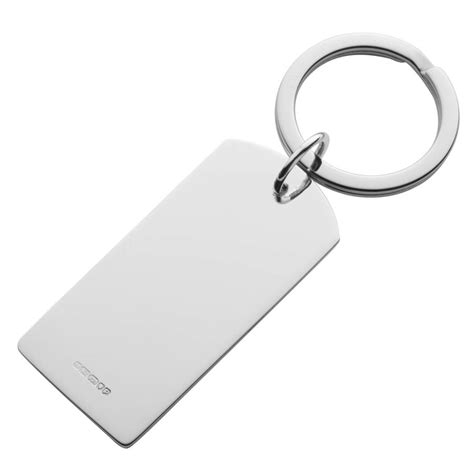 silver key ring tag by hersey silversmiths